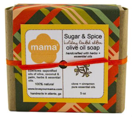 Sugar + Spice Soap - Gift Wrapped   Mama Bath + Body