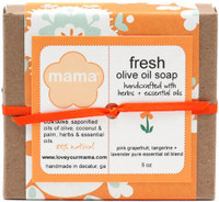 Fresh (Grapefruit, Tangerine + Lavender) Soap - Gift Wrapped | Mama Bath + Body