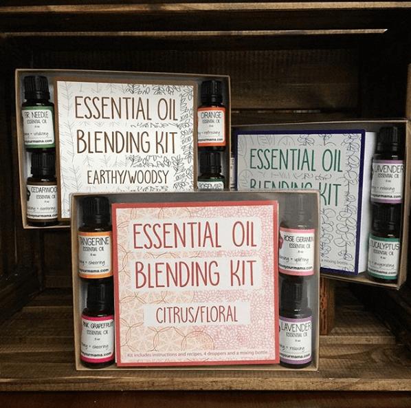 Essential Oil Blending Kit - Citrus/Floral   Mama Bath + Body