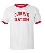 Ojibwe Nation Ringer T-Shirt