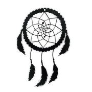 Dream Catcher Metal Silhouette