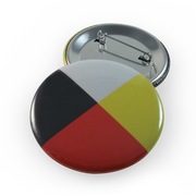 Medicine Wheel Button