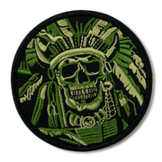 Indian Skull War Chief  Patch