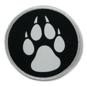 Wolf Paw Patch