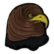 Eagle Head Embroidery Patch