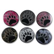 Camo Bear Paw Button/Magnet/Mirror/Zipper Pull