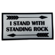 Standing Rock Iron-On Patch -  Standing Rock Applique Patch