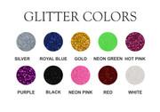 Custom Iron-On Glitter Name