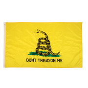 "Gadsden  Rattlesnake Snake Don't Tread On Me Flag Flag- 5"" X 3"" Feet"