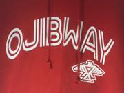 Ojibway Baseball Style Logo