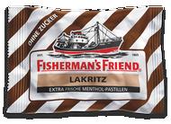 Fishermans Friend Licorice Lakritz, without Sugar, Sugar free 25 g - 0.88 Oz