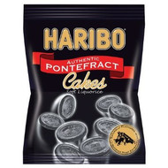 UK's Best: Haribo Original Pontefract cakes licorice , Bag 220g / 7.7Oz