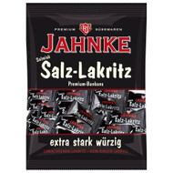 125g Jahnke Salt Licorice