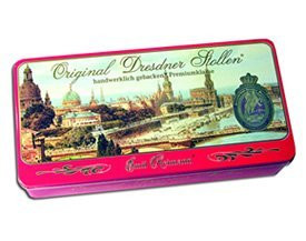 Its the Original Dresdner Stollen. Now fresh baked in Dresden Germany - and shipped from our US Warehouse!