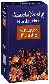 Nordzucker Sweet Family Krusten Kandis Box of 500 Gr / 17.6 Oz
