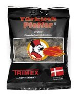 Trimex Tuerkisch Pfeffer / Tyrkisk Turkish  Turk Pepper Licorice 3.5 Oz / 100g Türkisch Pepper