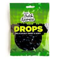 Gustaf's Dutch Licorice Drops sweet & soft Domes  Bag 150g - 5.29oz