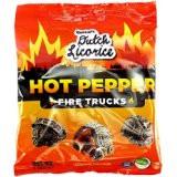 Gustaf's Dutch Licorice Hot Pepper Fire Trucks Bag 150g - 5.29oz