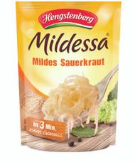 Mildessa Mildes Sauerkraut 400 g (Mild Sauerkraut) Pouch - 500 g - 17.7 Oz - 1.1 lbs