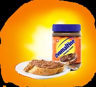 OVOMALTINE of Switzerland Crunchy Cream hazelnut chocolate spread 380g - 13.4Oz