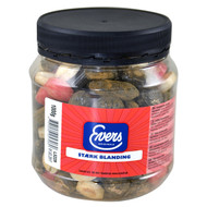 Evers Danish Licorice Stærk Blanding Jar 1kg - 35.27Oz