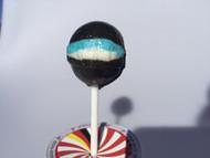 Single MGC German Specialty Skipper Lollipop   Salty Licorice Lolly