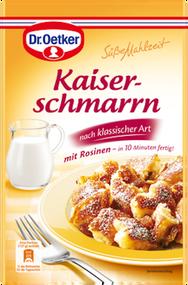 Dr. Oetker Suesse Mahlzeit Kaiserschmarrn with Raisins (Egg needed!) 165g