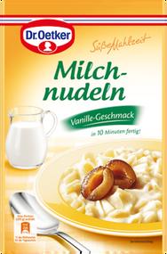 Dr. Oetker Suesse Mahlzeit Milchnudeln / Vanilla Flavored Milk Noodles 116g