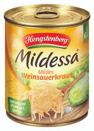 Small Mildessa Original Mildes Sauerkraut (Mild Wein Sauerkraut) Tin -  285g - 10 Oz -