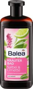 German herbal relaxing bath: sage & lime, Salbei & Limette  500 ml  - 16.9floz Glas bottle