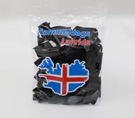 Icelandic Gammeldags - Old-fashioned sweet black soft Licorice - Bag of 350g - 12.3oz