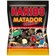 HARIBO Denmark offers Licorice from light to medium strong - they even throw in a cola gummy!