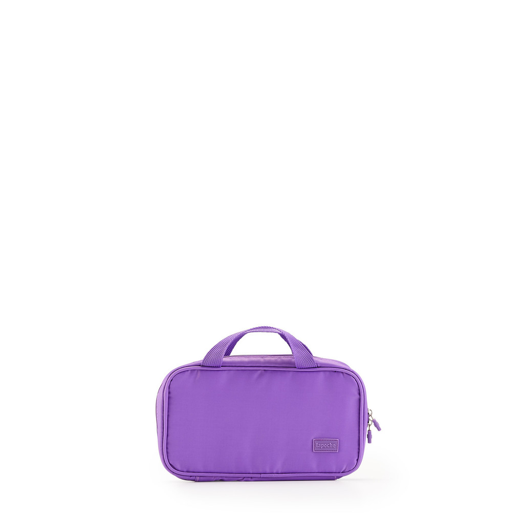 make up bag purple