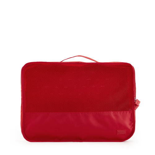 luggage organiser (medium) red