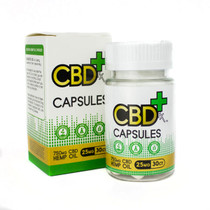 CBDfx Capsules 30-pack (25mg CBD each)