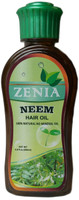 Zenia Neem Hair Oil 100% Natural No Mineral Oil 200ml