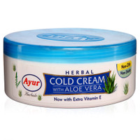 Ayur Herbal Cold Cream with Aloe Vera & Vitamin E