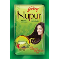 Godrej Nupur Natural Henna for Hair  1kg / 2lbs