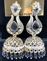 hand crafted Indian earring set