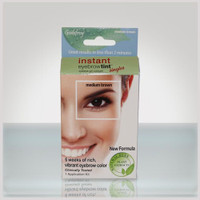instant eyebrow kit medium brown