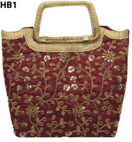 Handcrafted Indian basket Bags Purses