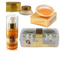 Shahnaz Husain Gold Facial Kit 4 Pack Home Size