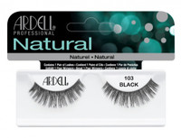 Ardell Natural Lashes 103 Black Lashes #65084