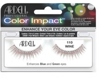 Ardell Color Impact 110 Wine Lashes #61472