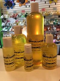 shower gel-yellow