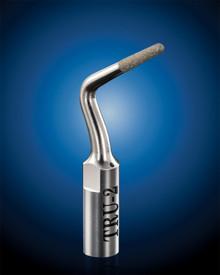 TRU MARGIN-2 (1.3mm X 1.7mm taper) Diamond Restorative Ultrasonic Tip