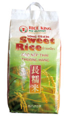 02002	LONG GRAIN SWEET RICE THAI	RICE KING 20 LB