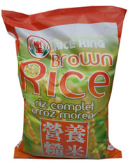 02163	EASY COOK BROWN RICE	RICE KING 15 LBS