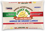 02561	LONG GRAIN RICE	LUCKY 3/20 LBS