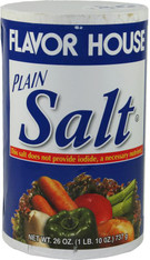 21906	PLAIN TABLE SALT	FLAVOR HOUSE24/26 OZ